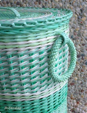 Плетение из газетных трубочек цифры