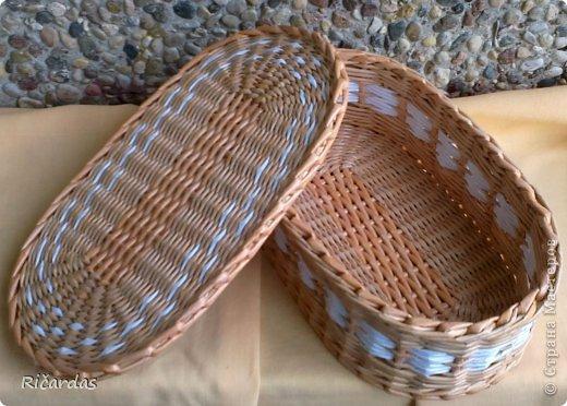 плетенка из газеты фото