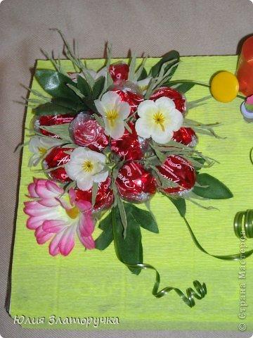Оформление коробочки вкусных конфет в летней тематике,а точнее даже в дачной))) фото 4