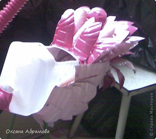 """Хочу познакомить вас с процессом изготовления этого прекрасного """"Фламинго"""". Так как это была моя первая работа, фотографий практически не осталось, попробую подробно объяснить с помощь описания и схем. фото 8"""