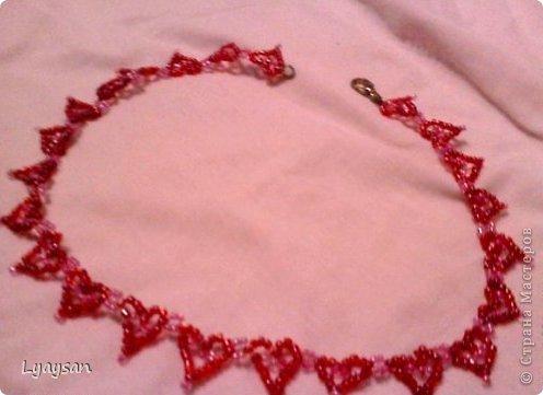 Браслеты, ожерелья и брелки из бисера фото 5