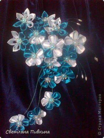 """Вот такая цвето4ная полянка , но назвала я ее """" Морским прибоем"""", так уж мне захотелось)))"""