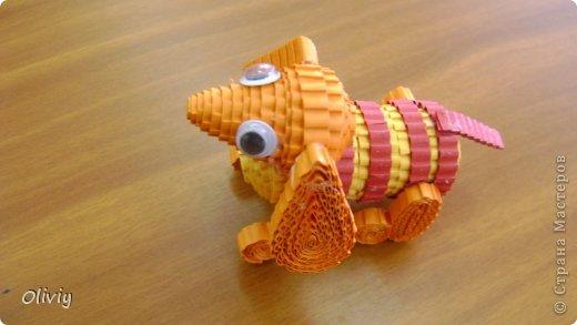 Собачку таксу сделала моя ученица фото 3