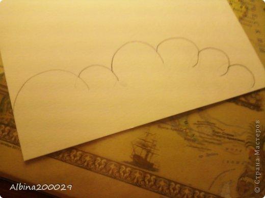 Всем доброго времени суток жители Страны Мастеров. Хочу поделиться мастер-классом по чудесным облакам. Эти облака можно использовать где угодно. Ну что, начнем?  фото 4