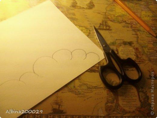 Всем доброго времени суток жители Страны Мастеров. Хочу поделиться мастер-классом по чудесным облакам. Эти облака можно использовать где угодно. Ну что, начнем?  фото 5