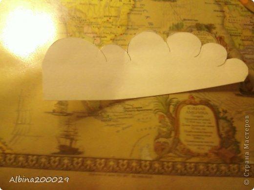 Всем доброго времени суток жители Страны Мастеров. Хочу поделиться мастер-классом по чудесным облакам. Эти облака можно использовать где угодно. Ну что, начнем?  фото 6