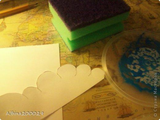 Всем доброго времени суток жители Страны Мастеров. Хочу поделиться мастер-классом по чудесным облакам. Эти облака можно использовать где угодно. Ну что, начнем?  фото 10