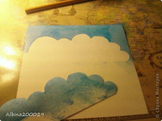 Всем доброго времени суток жители Страны Мастеров. Хочу поделиться мастер-классом по чудесным облакам. Эти облака можно использовать где угодно. Ну что, начнем?  фото 15