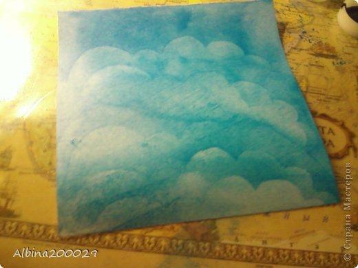 Всем доброго времени суток жители Страны Мастеров. Хочу поделиться мастер-классом по чудесным облакам. Эти облака можно использовать где угодно. Ну что, начнем?  фото 16