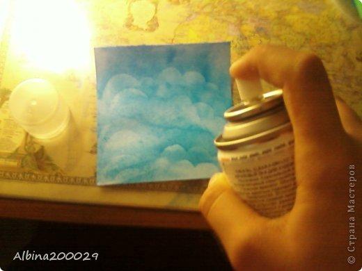 Всем доброго времени суток жители Страны Мастеров. Хочу поделиться мастер-классом по чудесным облакам. Эти облака можно использовать где угодно. Ну что, начнем?  фото 18