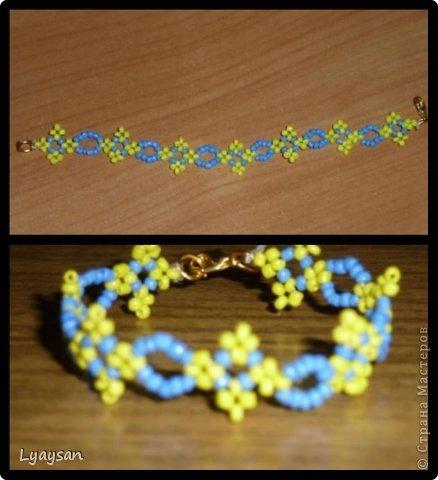 Браслеты, ожерелья и брелки из бисера фото 21
