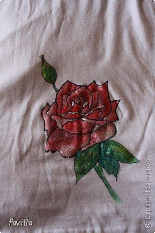 Майка с розой для мамы фото 3