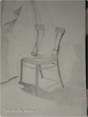 """девочку срисовывала из журнала про интерьер """"Мой любимый дом"""". А получилась добрая сутеевская девчушка. фото 3"""
