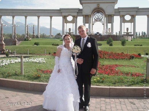Свадебная пара, которую я пошила к свадьбе сына. фото 17