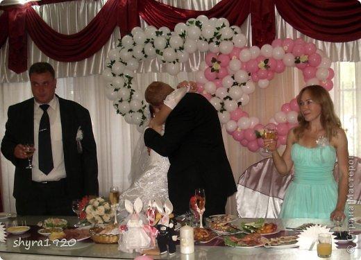 Свадебная пара, которую я пошила к свадьбе сына. фото 14