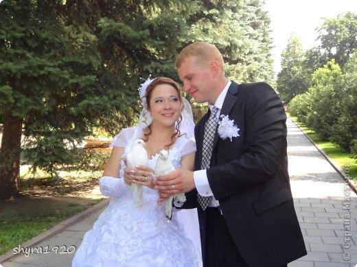 Свадебная пара, которую я пошила к свадьбе сына. фото 15