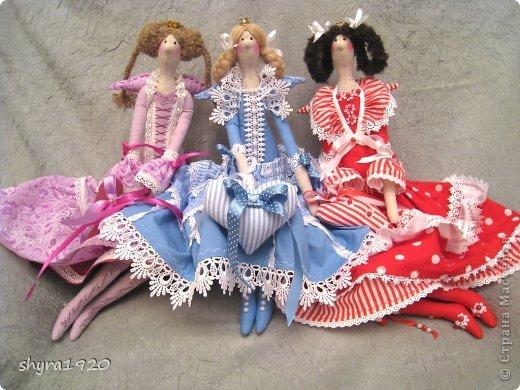 """Вот мои новые куколки из серии """"Царские дочки"""" фото 23"""