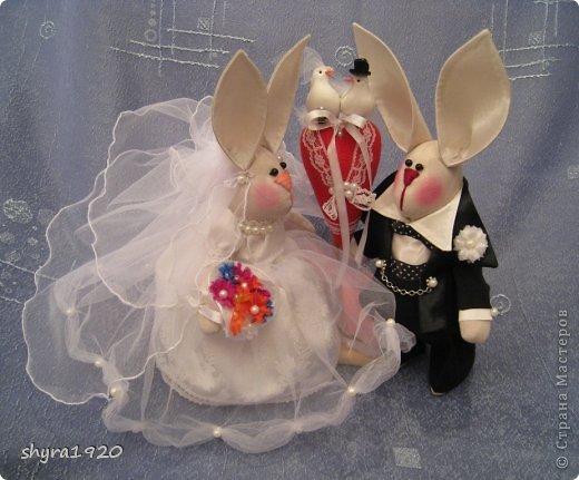 Свадебная пара, которую я пошила к свадьбе сына. фото 12