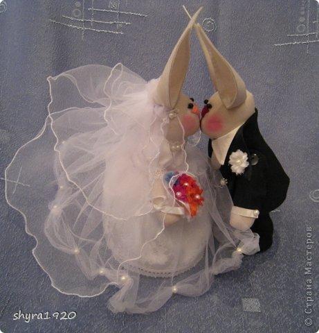 Свадебная пара, которую я пошила к свадьбе сына. фото 9