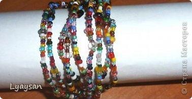 Браслеты, ожерелья и брелки из бисера фото 13