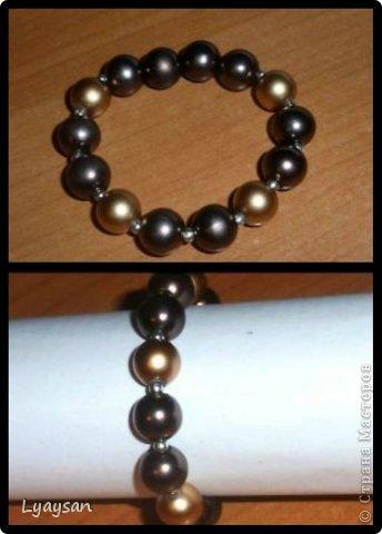 Браслеты, ожерелья и брелки из бисера фото 23