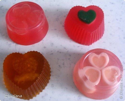 """Вот мои новые творения: Мыло """"Розовые мечты"""" . Для роллов использовала обрезки мыла из предыдущего моего поста с мылом """"Конфетти"""" - поэтому мечты получились с цветными вкраплениями. фото 8"""