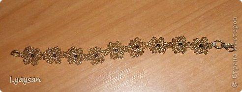 Браслеты, ожерелья и брелки из бисера фото 17