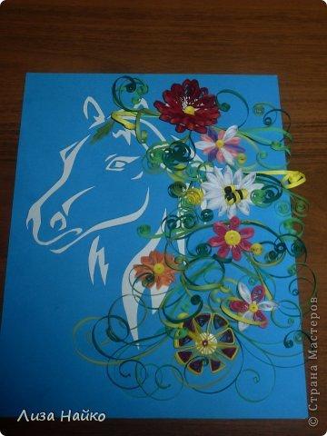 Эту лошадку я сделала по мастер-классу  Juliasia.  И подарила  маме на День Рождения. фото 1