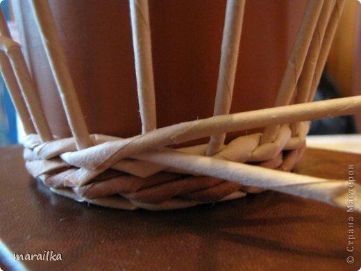 Мастер-класс Поделка изделие Квиллинг Плетение Прячем хвосты МК для начинающих Бумага газетная Трубочки бумажные фото 15