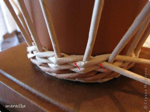 Мастер-класс Поделка изделие Квиллинг Плетение Прячем хвосты МК для начинающих Бумага газетная Трубочки бумажные фото 16