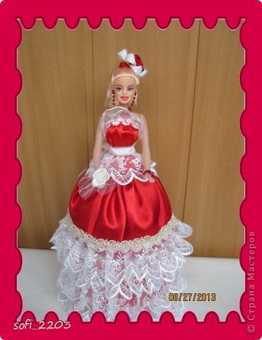 Здраствуйте СМ!!! Я уже наверное надоела со своими куклами, но хочется показать ещё эту, девушку в красном!! фото 1