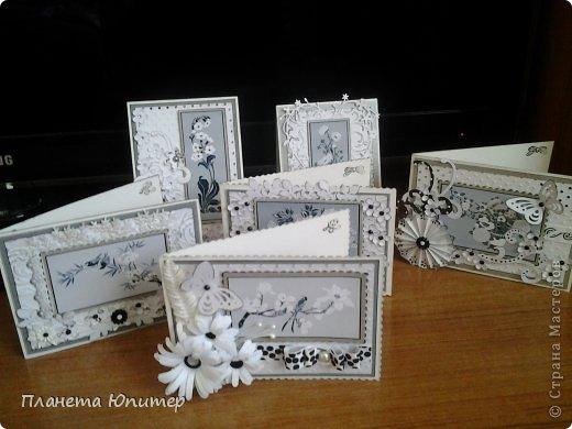 """Добрый день всем! Неожиданно возникла идея создать такие открытки... Все потому, что... Разглядывая имеющиеся у себя в """"кладовых"""" картинки для творчества, наткнулась на эти... Вообще, это картинки для изготовления трафаретов, но они мне так понравились, и их там было такое великое множество, что я сразу  поняла, что буду делать с ними открытки...  http://fljuida.com/post248155910 - ссылка на картинки. фото 2"""
