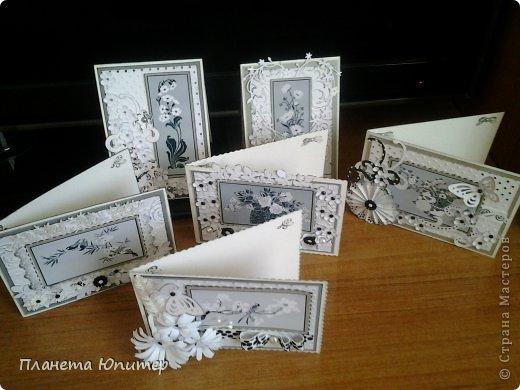 """Добрый день всем! Неожиданно возникла идея создать такие открытки... Все потому, что... Разглядывая имеющиеся у себя в """"кладовых"""" картинки для творчества, наткнулась на эти... Вообще, это картинки для изготовления трафаретов, но они мне так понравились, и их там было такое великое множество, что я сразу  поняла, что буду делать с ними открытки...  http://fljuida.com/post248155910 - ссылка на картинки. фото 1"""