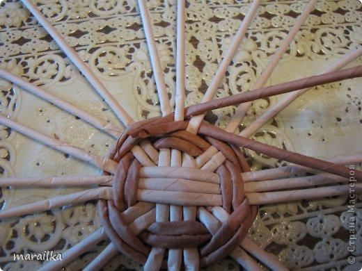 Мастер-класс Поделка изделие Квиллинг Плетение Прячем хвосты МК для начинающих Бумага газетная Трубочки бумажные фото 5