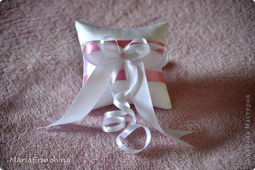 Свадебные подушечки под кольца))) фото 1