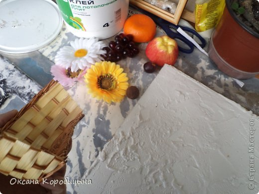 Очередная кухонная картина .От начало и до конца.   Я покажу вам 2варианта.  фото 4
