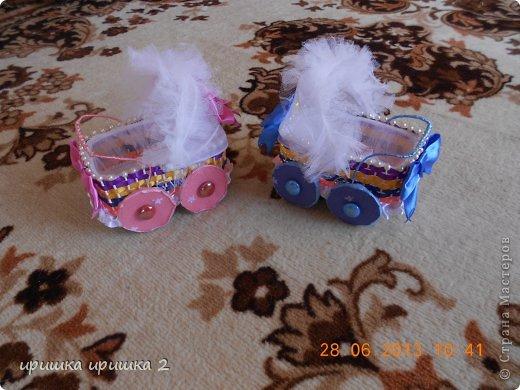 колясочки на свадьбу  фото 1