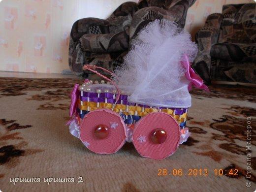 колясочки на свадьбу  фото 2