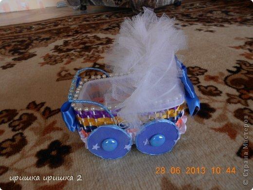 колясочки на свадьбу  фото 7