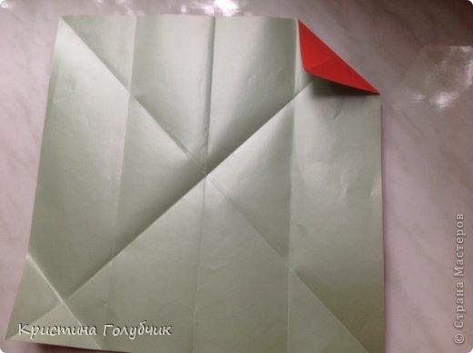 Привет! Хотите сделать такое легкое украшение? Тогда вы по адресу! Источник: http://planetaorigami.ru/2011/09/simvol-in-yan-iz-bumagi-po-sxeme-sy-chen/ фото 5