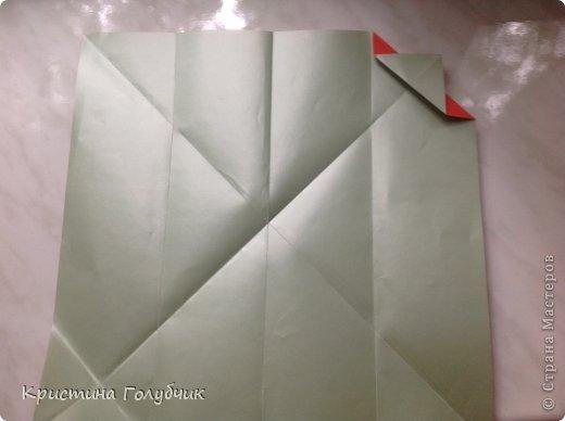 Привет! Хотите сделать такое легкое украшение? Тогда вы по адресу! Источник: http://planetaorigami.ru/2011/09/simvol-in-yan-iz-bumagi-po-sxeme-sy-chen/ фото 6