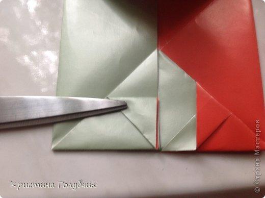 Привет! Хотите сделать такое легкое украшение? Тогда вы по адресу! Источник: http://planetaorigami.ru/2011/09/simvol-in-yan-iz-bumagi-po-sxeme-sy-chen/ фото 25