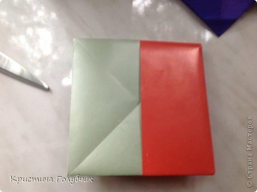 Привет! Хотите сделать такое легкое украшение? Тогда вы по адресу! Источник: http://planetaorigami.ru/2011/09/simvol-in-yan-iz-bumagi-po-sxeme-sy-chen/ фото 32