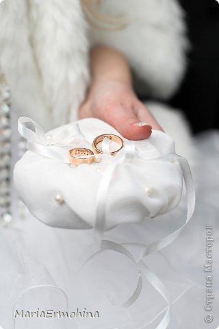 Свадебные подушечки под кольца))) фото 2