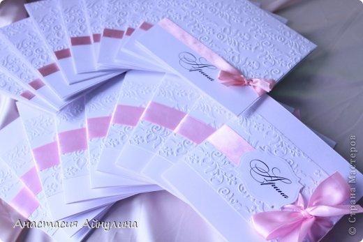 Приглашения на крестины девочки.  Вдохновлялась работами прекрасной мастерицы,чьи работы очень люблю, Kristiina Disain.  http://kristiinadisain.com/ - ее сайт фото 3