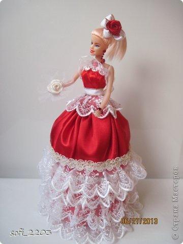 Здраствуйте СМ!!! Я уже наверное надоела со своими куклами, но хочется показать ещё эту, девушку в красном!! фото 2