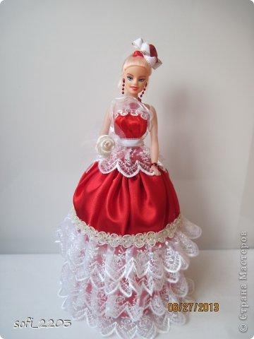 Здраствуйте СМ!!! Я уже наверное надоела со своими куклами, но хочется показать ещё эту, девушку в красном!! фото 3