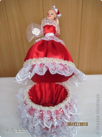 Здраствуйте СМ!!! Я уже наверное надоела со своими куклами, но хочется показать ещё эту, девушку в красном!! фото 4