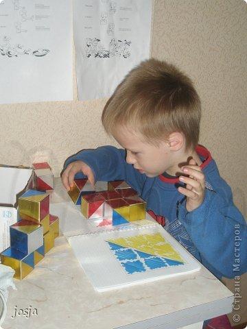 Вот такие кубики я сделала для сына. фото 3