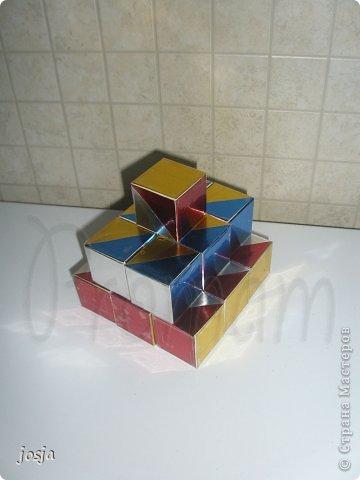 Вот такие кубики я сделала для сына. фото 1